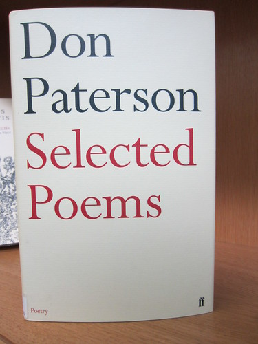 Selected Poems by Don Paterson | by Scottish Poetry Library