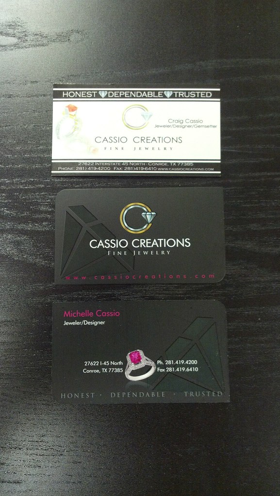 Custom Designed Business Cards w/ Spot UV | Custom designed … | Flickr
