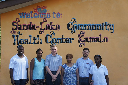Health team volunteers in Kamalo with Stephen Crabb MP | by conservativeparty