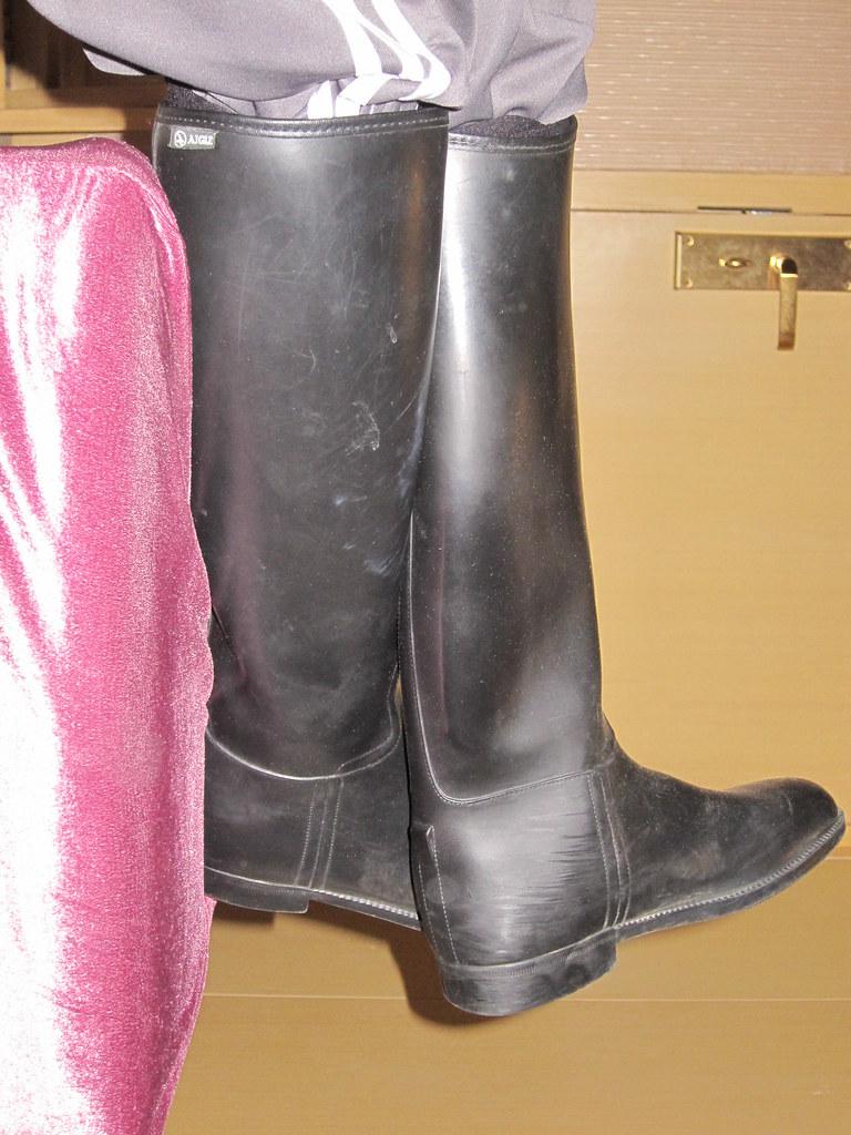 DSE0045 | Aigle Start Riding Boots. | Woaimaxue | Flickr