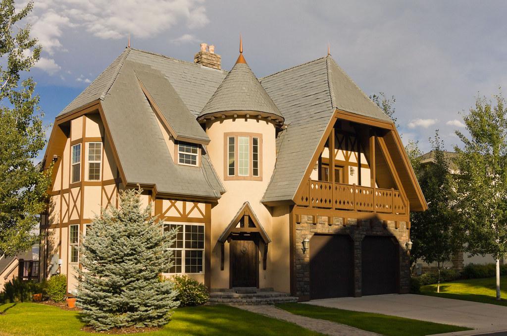 Castle Tudor Style Luxury Home Midway Utah Photo Dean