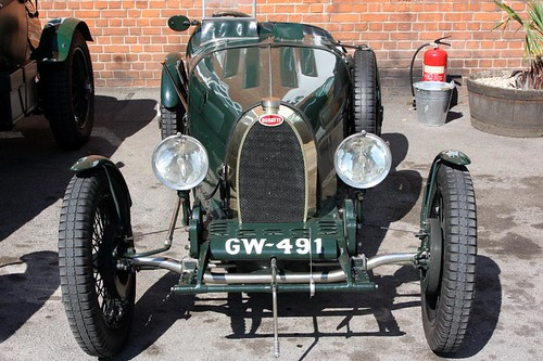 Brooklands Society 45th Reunion - 1927 Bugatti T37A (GW 491) | by growler2ndrow