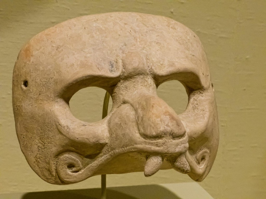 mayan jaguar mask