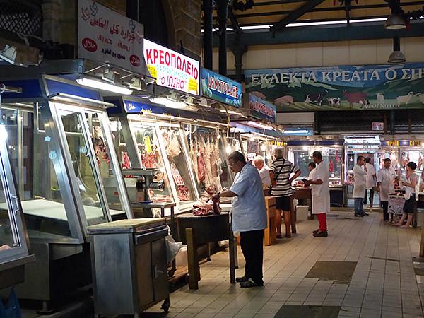 bouchers du marché d'athènes 2
