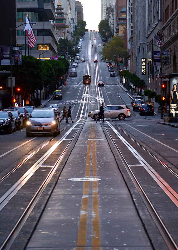 Gigantescas cuestas de San Francisco