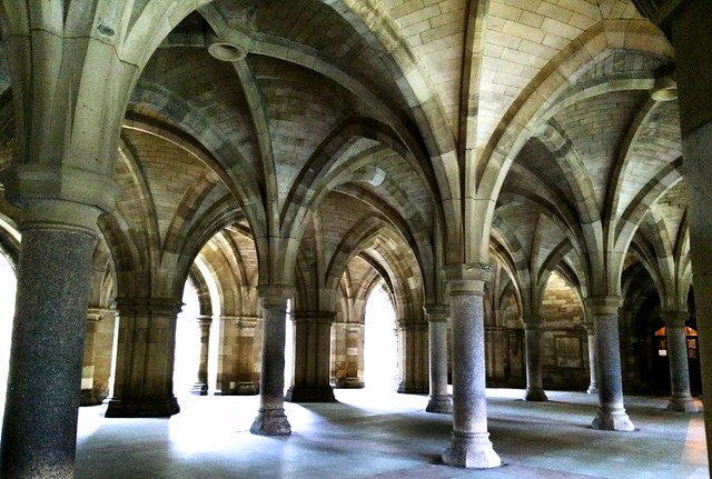 Glasgow uni cloisters 2