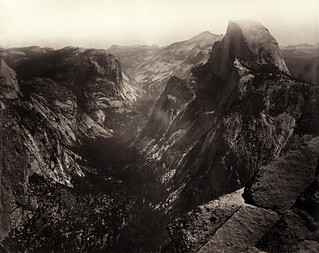 Carleton Watkins, Half Dome, Yostemite Valley, 1865. Wikipedia Commons. | by KEEN Footwear