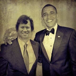 kris kros and president obama | by Kris Kros