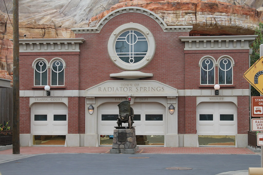 Radiator Springs Courthouse Taken On June   At The
