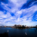 Sydney Harbour and Clouds