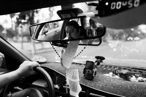 Santiago Taxi Ride | by David's_silvershots
