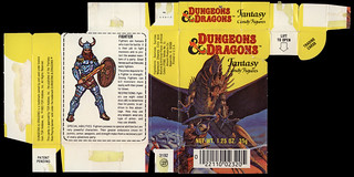 Amurol - Dungeons and Dragons - fantasy candy figures - candy box - early 1983 | by JasonLiebig