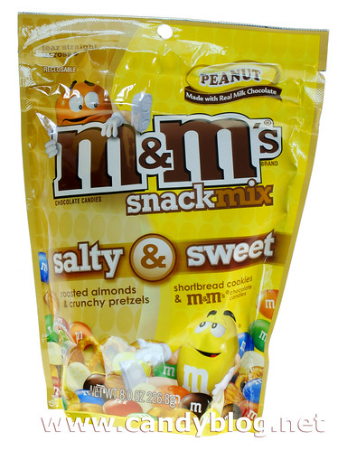 M&Ms Snack Mix - Salty & Sweet Peanut | by cybele-