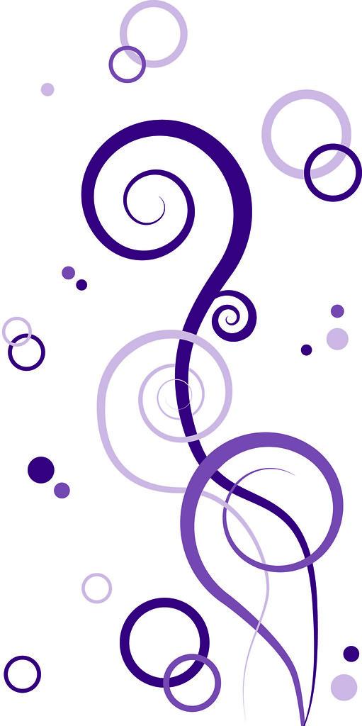 Purple swirls | Abstract design created using Illustrator ...