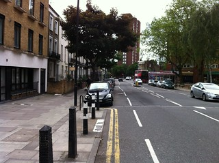Malden Road - door zone cycle lanes | by camdencyclists