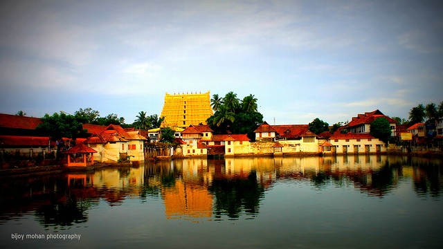 Sri Padmanabha Swamy Temple, Trivandrum, Kerala