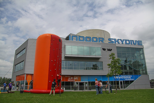Indoor skydiving | by mediocre