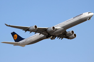 A340-600 LUFTHANSA | DXB-OMDB | by Ediney Ribeiro
