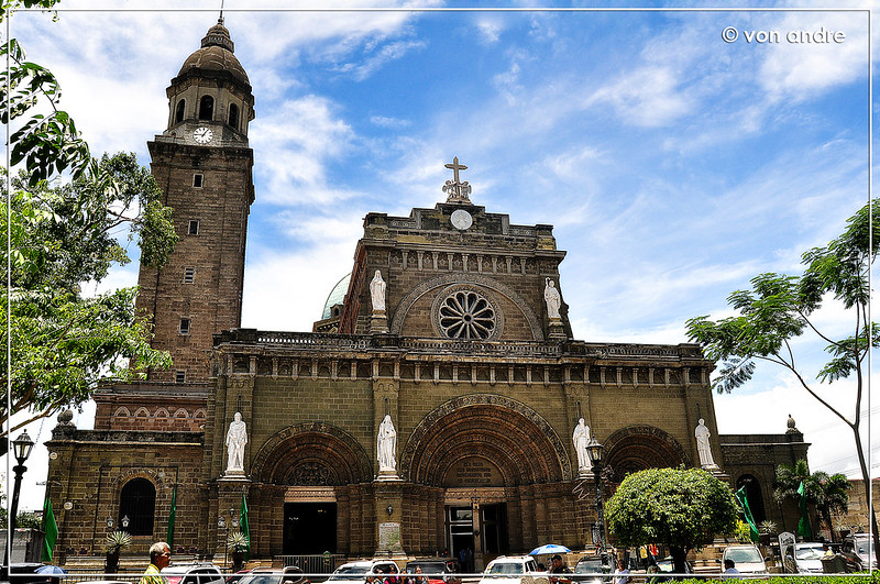 The Manila Cathedral, Philippines