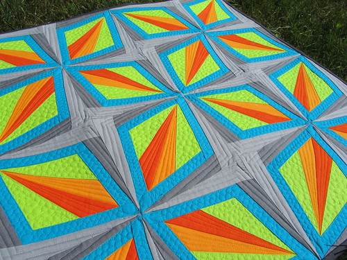 Dazzling Diamonds Completed | by A Quilting Jewel