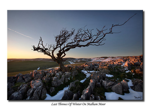 Last Throws Of Winter On Malham Moor | by SteveMG