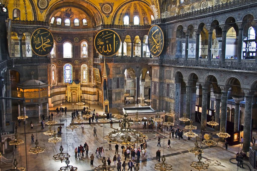 Istanbul, Hagia Sophia museum  Phil & Delph Poggianti ...