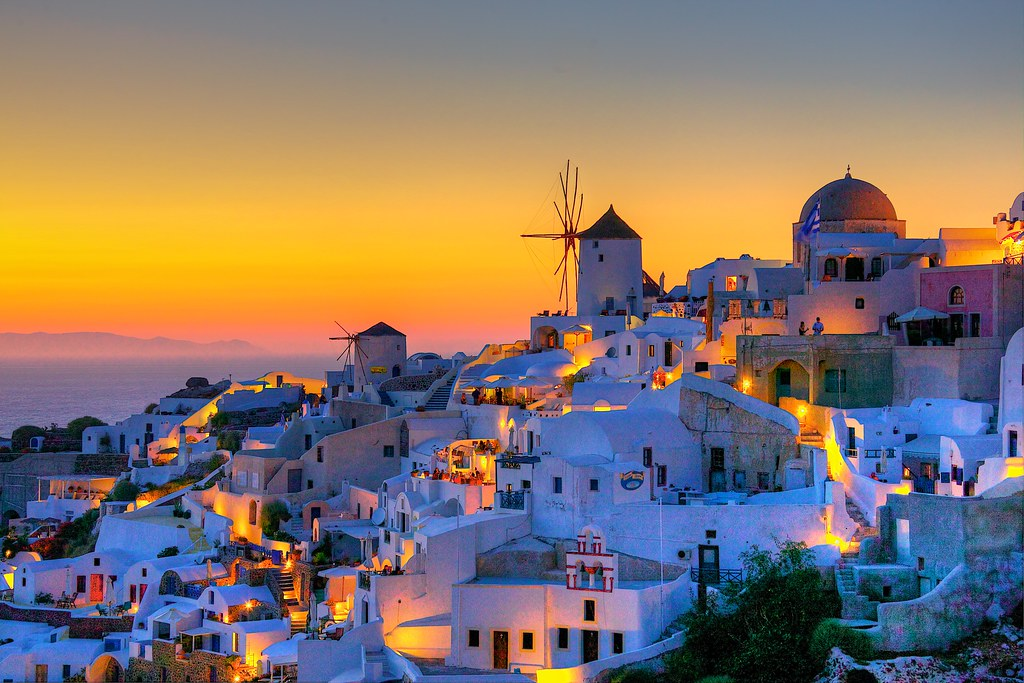 Santorini Hotels with Sunset View