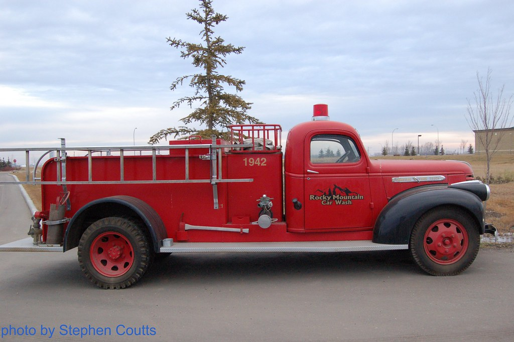 1942 General Motors Fire Truck 1 Stephen Coutts Flickr