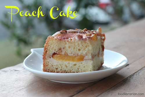 Peach Cake | by Food Librarian