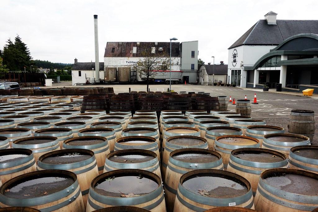 Tullibardine Distillery, Scotland