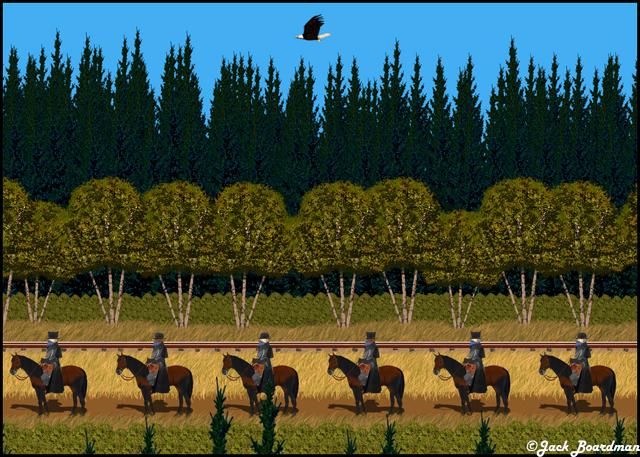 Ragnar's Eagle Riders ©Jack Boardman