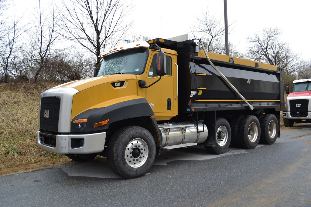 Tri Axle Truck For Sale >> Cat CT660 Tri Axle Dump Truck | Trucks, Buses, & Trains by granitefan713 | Flickr