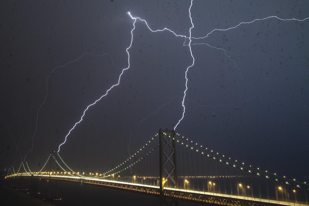 The Other Bay Bridge Lightning Strike I Sort Of Have
