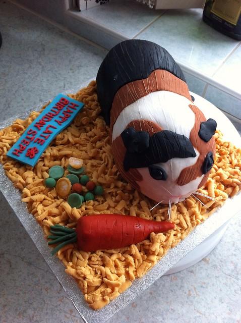 Guinea Pig Carrot Cake