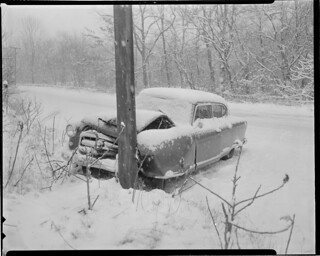 Auto accident | by Boston Public Library