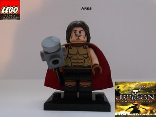 """LEGO Ares by BC   LEGO Ares from """" Percy Jackson and the ...  Lego Percy Jackson Luke"""