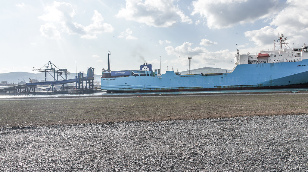 MS Anglia Seaways Docking (Belfast Port) 001