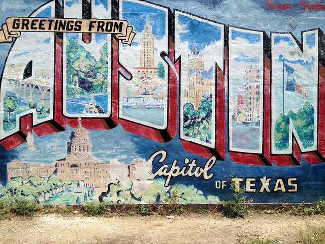 Photo for Austin postcard mural