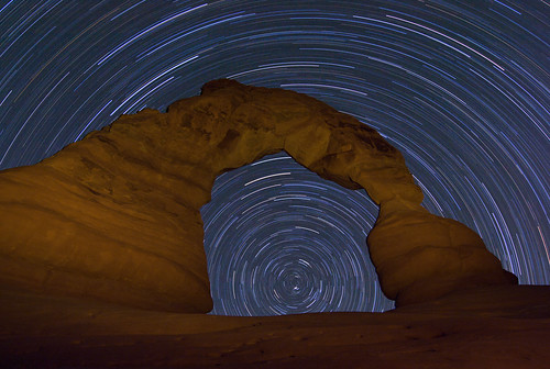 Four Portaits of an Arch: Star Trails | by geekyrocketguy