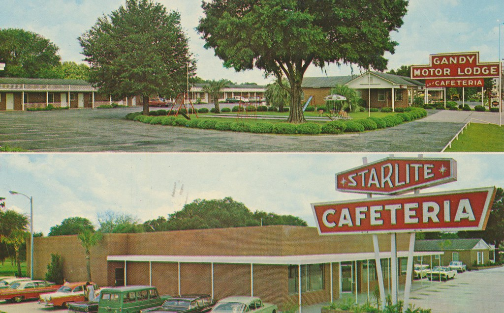 Gandy Motor Lodge and Starlite Cafeteria - Perry, Florida