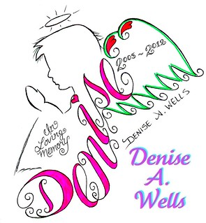 Denise Angel Memorial Tattoo desgin by Denise A. Wells | by ♥Denise A. Wells♥