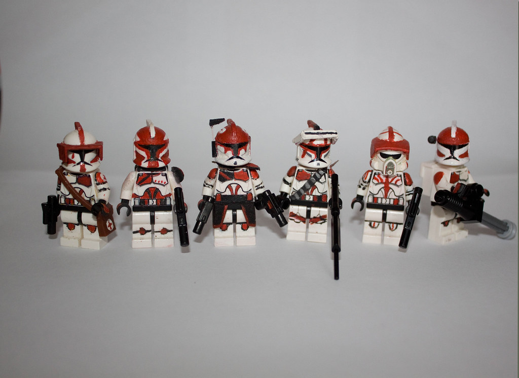 lego star wars custom clone squad my custom lego clone. Black Bedroom Furniture Sets. Home Design Ideas