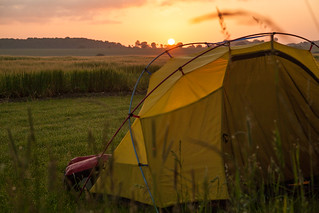Wild camping sunrise | by Jack Thurston