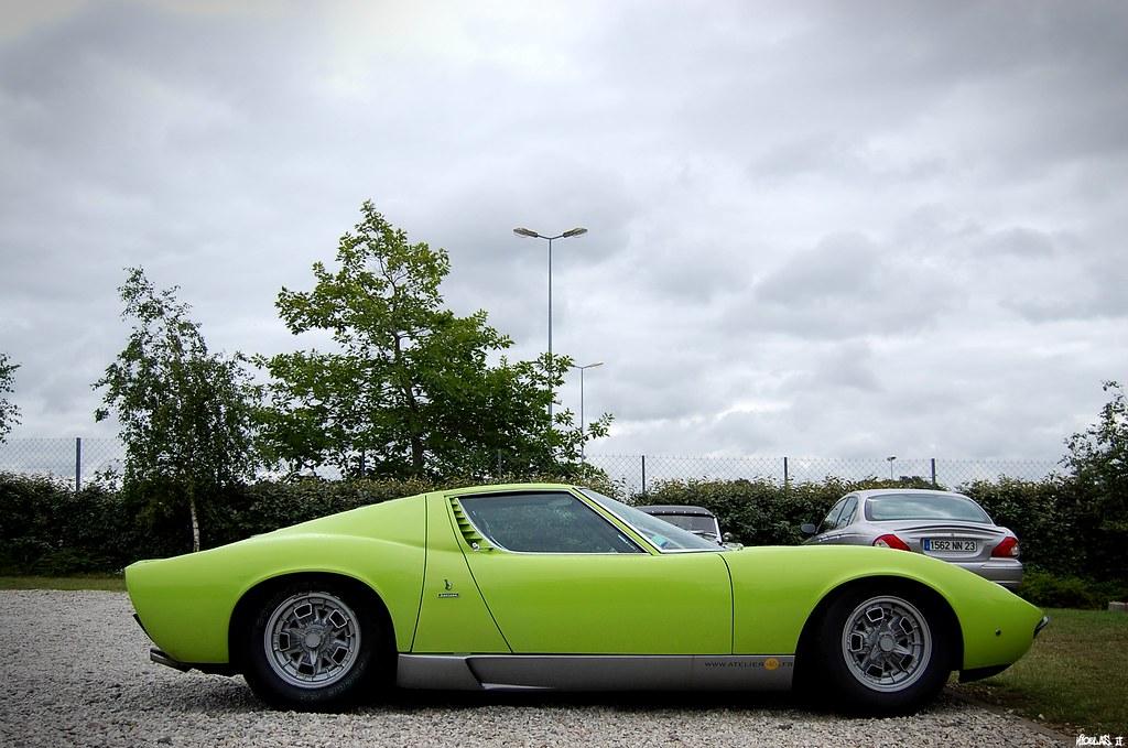 Lamborghini Miura S Le Mans Classic 2012 Nicolas Bzh Flickr