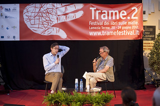 Federico Varese con David Lane | by tramefestival