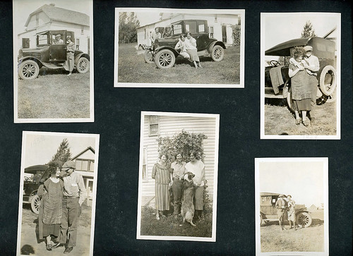 Helen M. Barke's scrapbook, page sixty-four, circa 1920s. | by NDSU University Archives