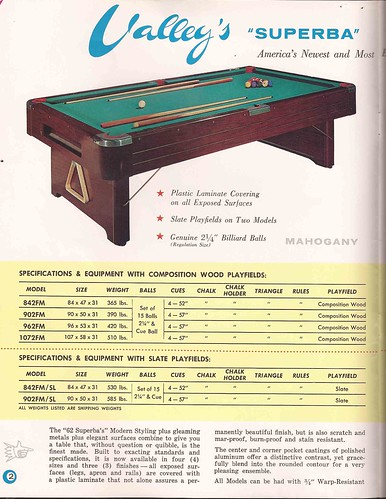 Valley Home Pool S S Flickr - Valley pool table models