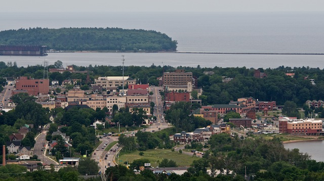 Downtown Marquette Michigan Scattered1 Flickr