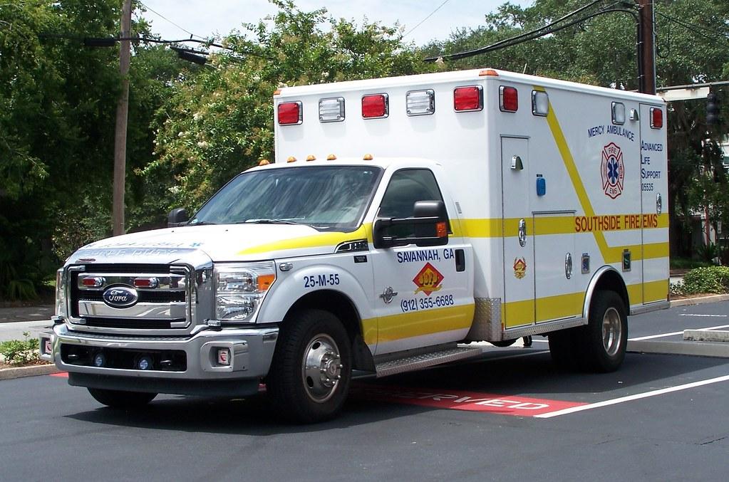 Southside Fire Dept Ems Ambulance Savannah Ga