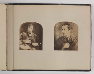 Left: William Henry Brookfield c1864. Right: Frederick Locker-Lampson, 1867 | by National Science and Media Museum